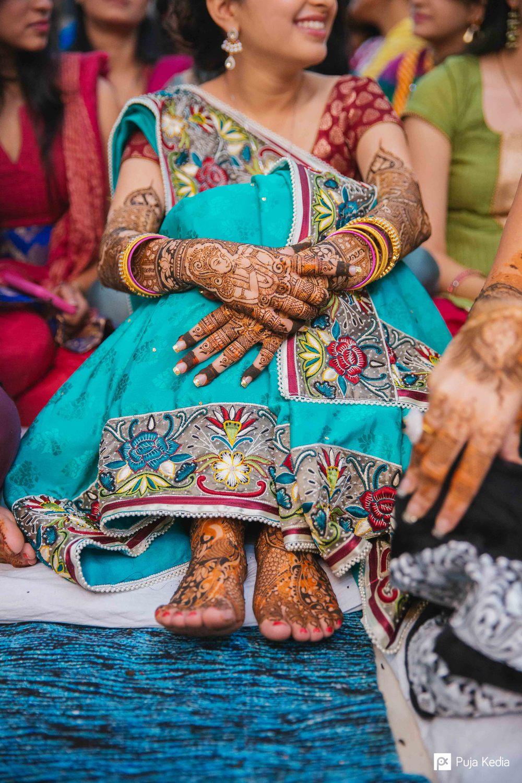 Bride's Attire.