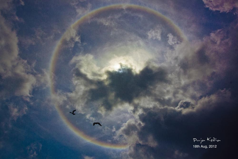 Rainbow Around The Sun #Surat