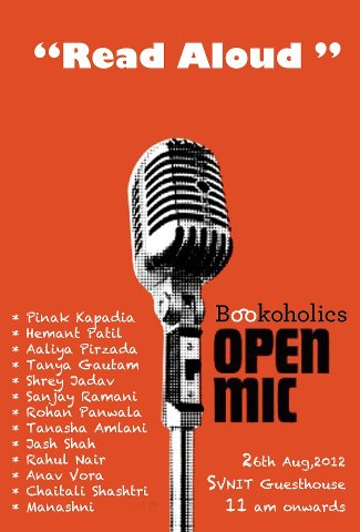Poster For The Open Mic