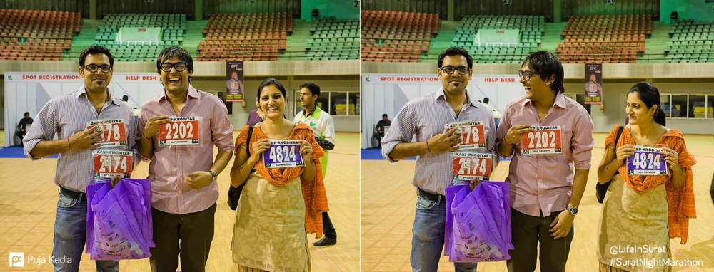 Bib Collection. At the Expo. #PreRaceEvent #IndoorStadium