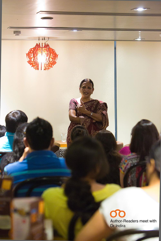 Dr Indira with Bookoholics