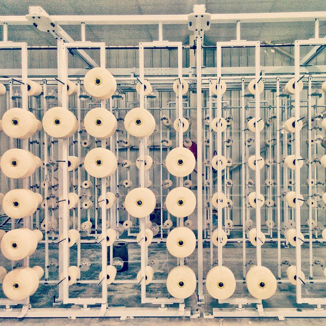 #Day1 -  Today brings me to  Anubha Mills  for an industrial documentation project... My goal here is to document and deliver the whole process from Fiber to Fashion in photos :) And so begins the new  -  #OneWeekInLifeOfAWeddingPhotographer