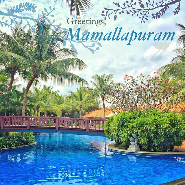 #Day3 -  What A Beautiful Day! Can't wait for the shoot to begin :)   #OneWeekInLifeOfAWeddingPhotographer #Mahabalipuram   #DestinationWedding