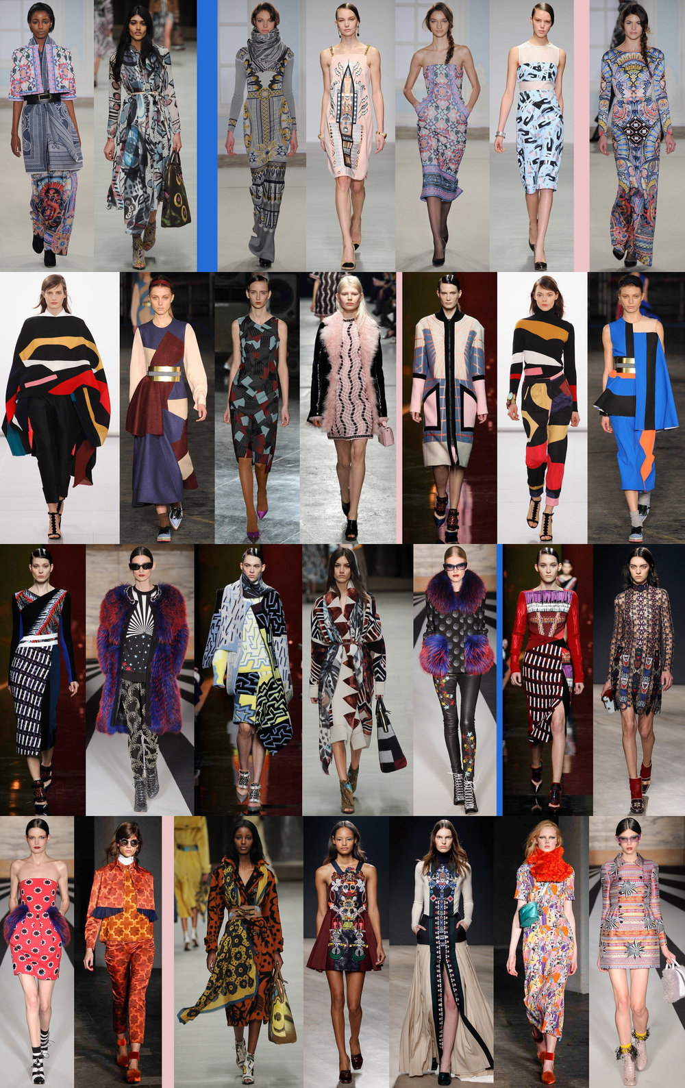 Liz Nehdi's top looks from London Fashion Week A/W 2014