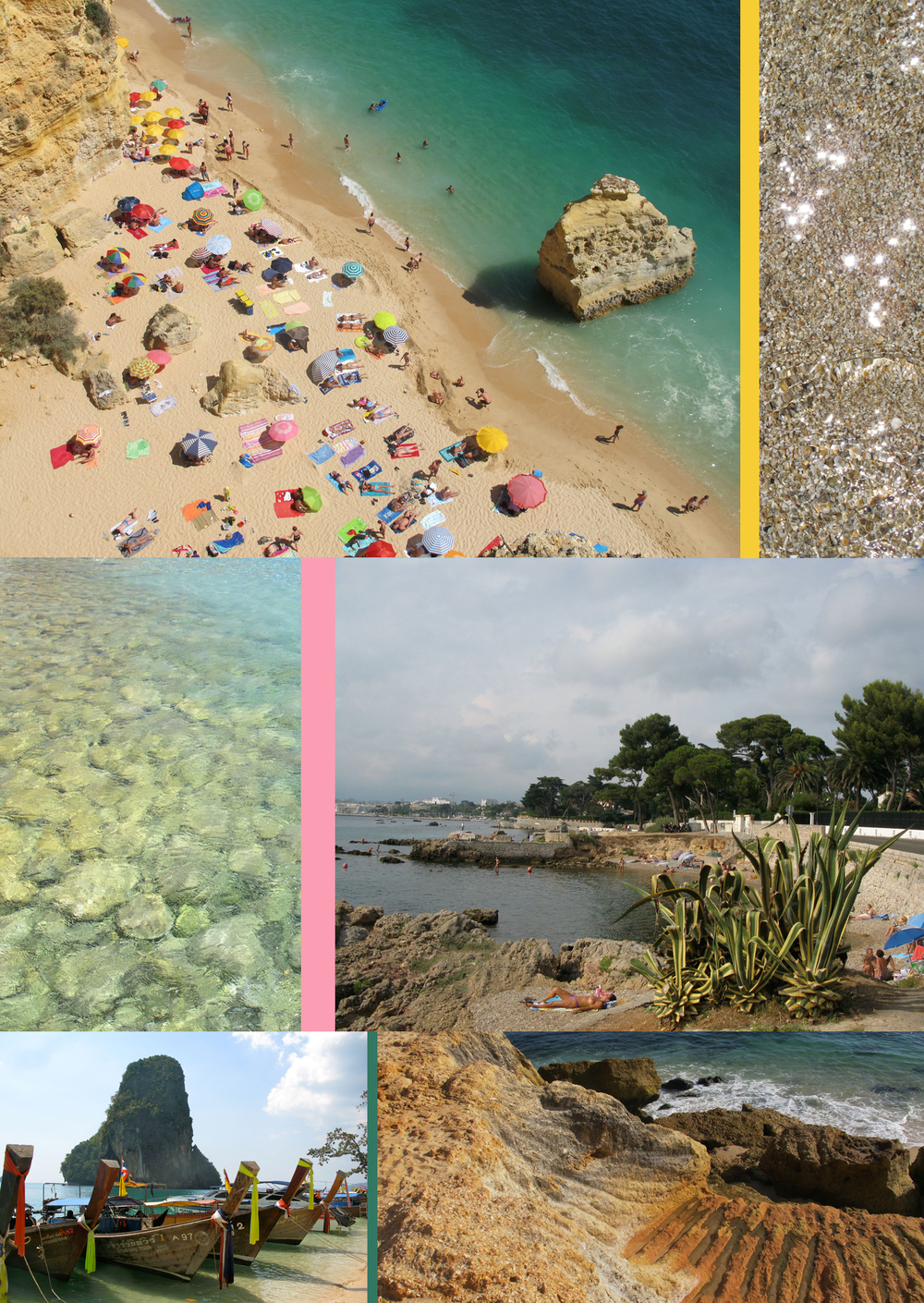 Some of Liz Nehdi's favourite beaches