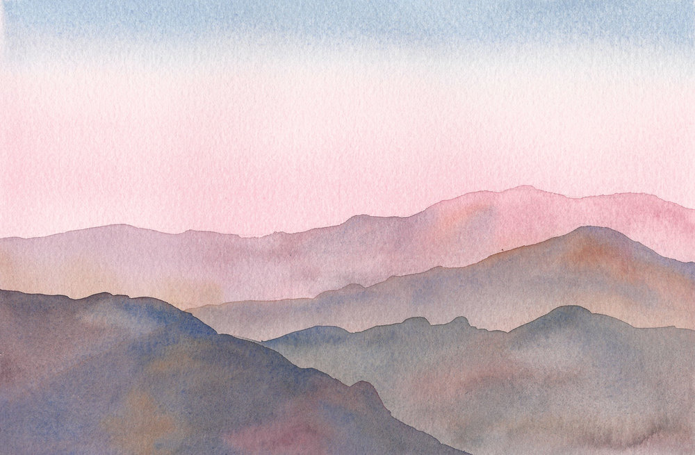 Watercolour by Liz Nehdi