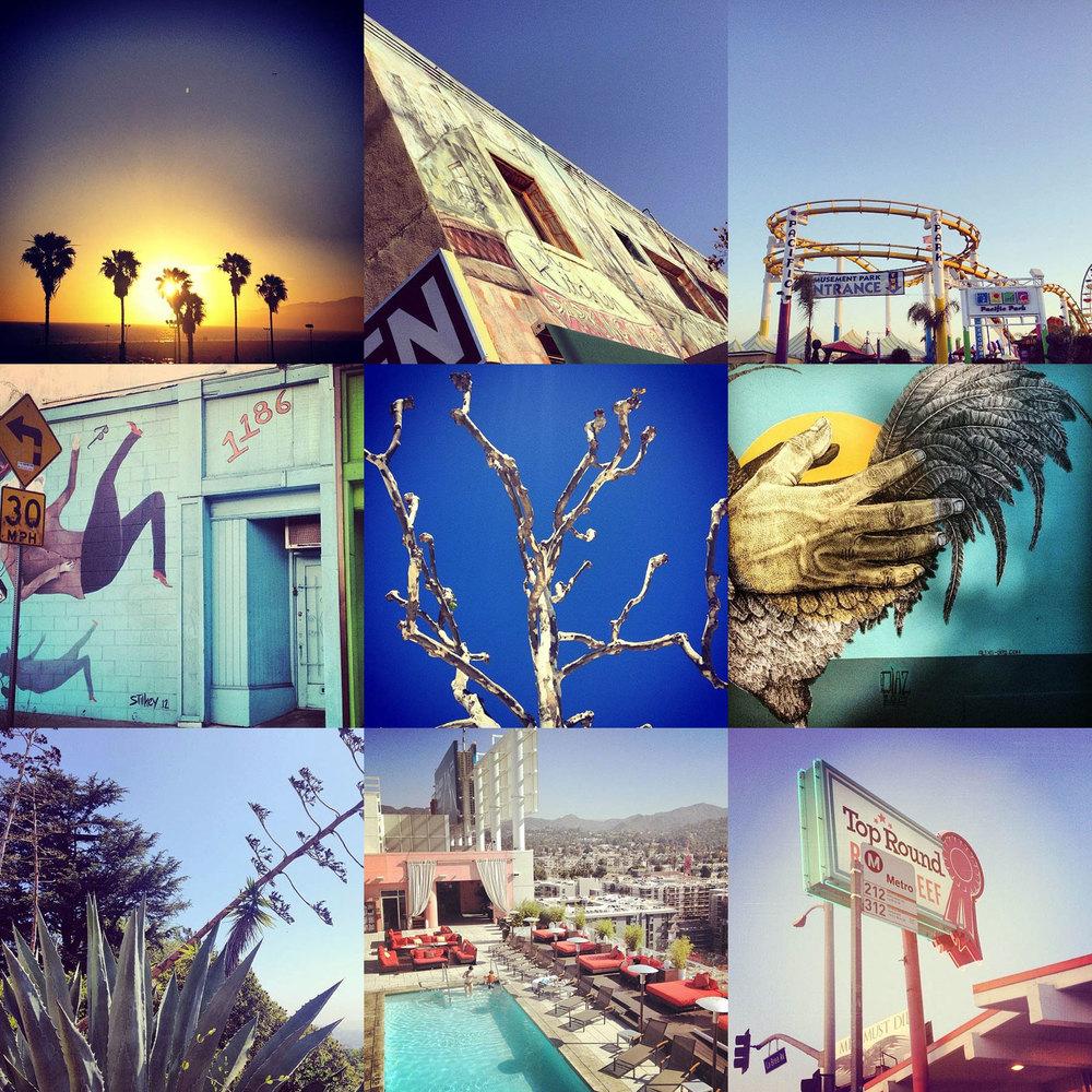 Inspiration from LA by Liz Nehdi, 2014