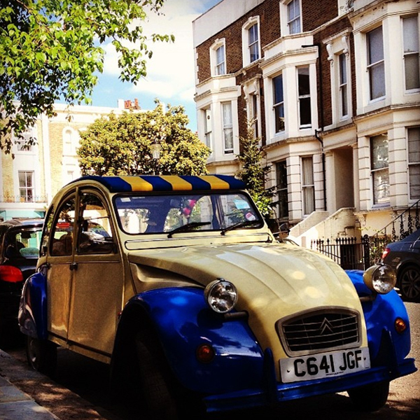 It's not my Orangina, but it's still an awesome little 2CV!