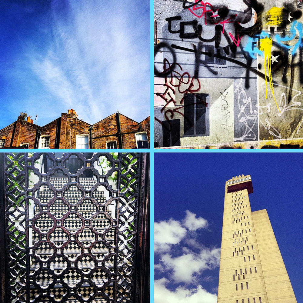 Eclectic London Collage by Liz Nehdi