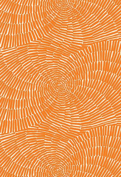 Orange pattern via  Allahlas