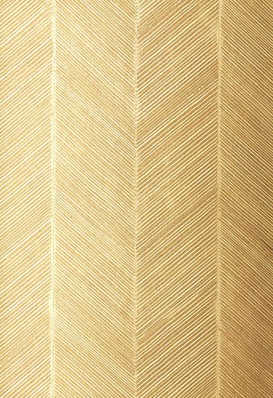 Gold Chevron Wallpaper from  Schumacher
