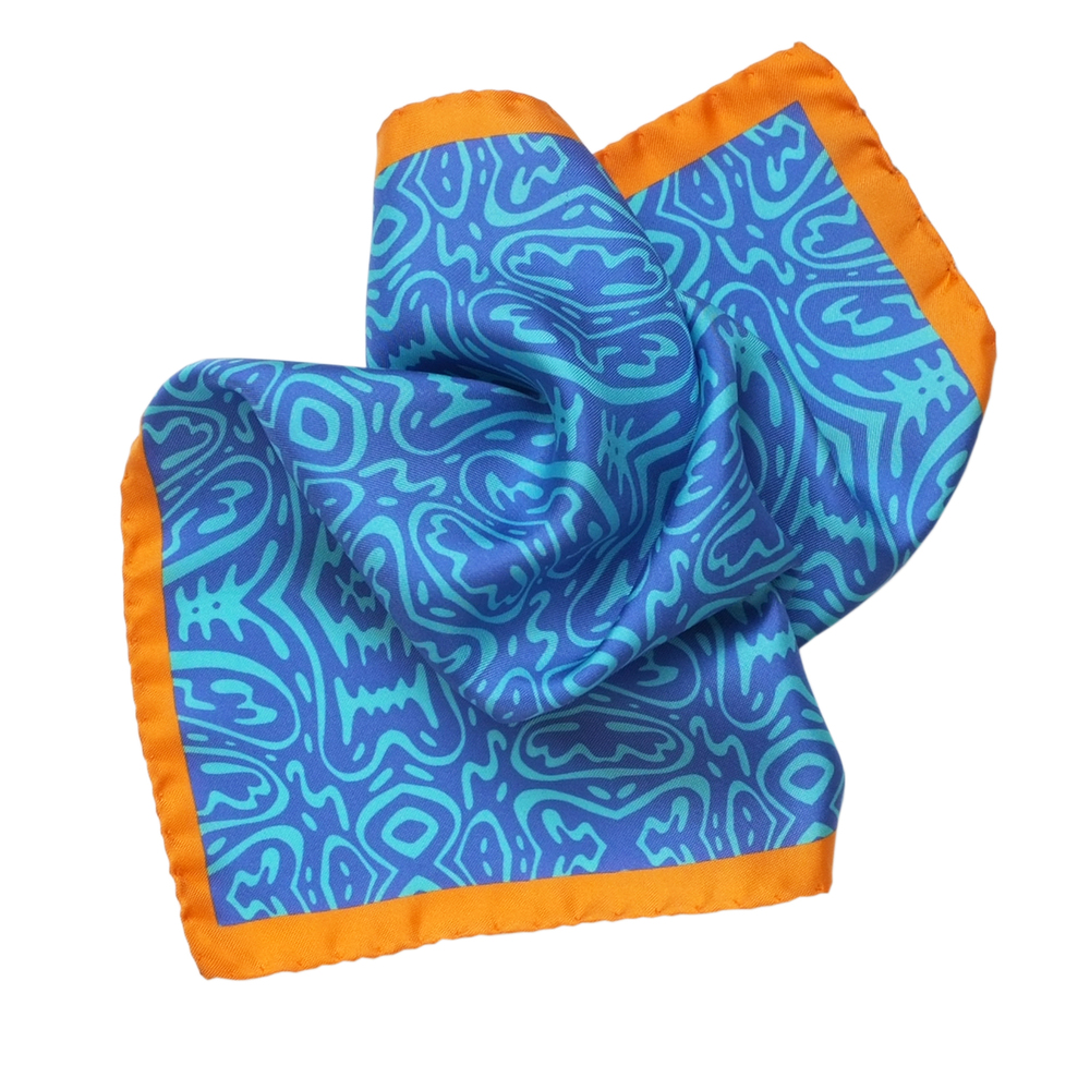 Shop the Following Flying Dutchmen Pocket Square