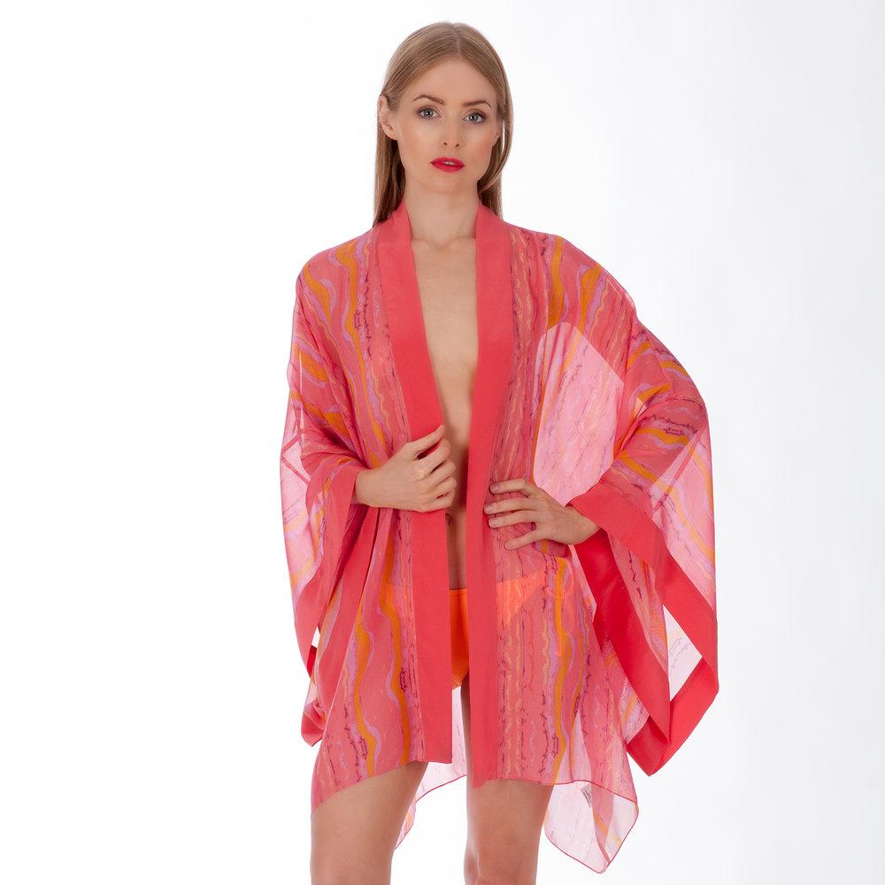 Eleuthera Waves kimono