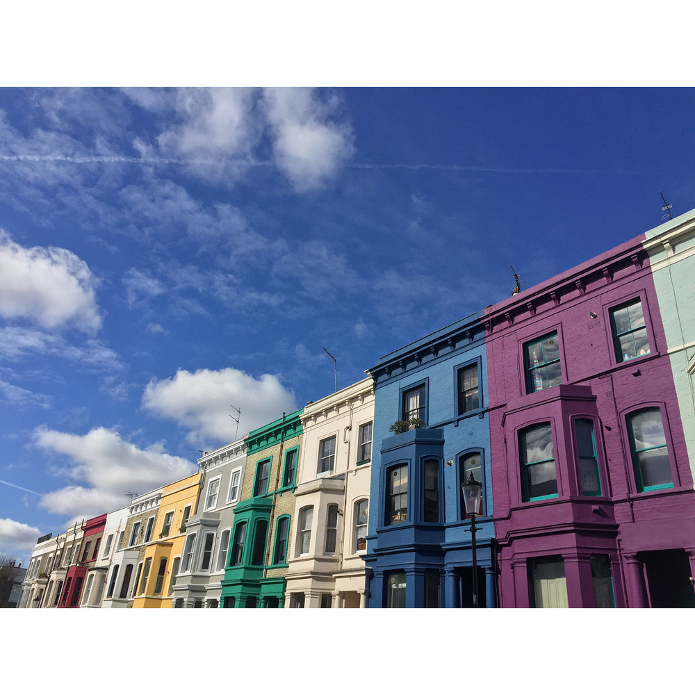 Stop it, Notting Hill now you're just showing off 😍💕🌈