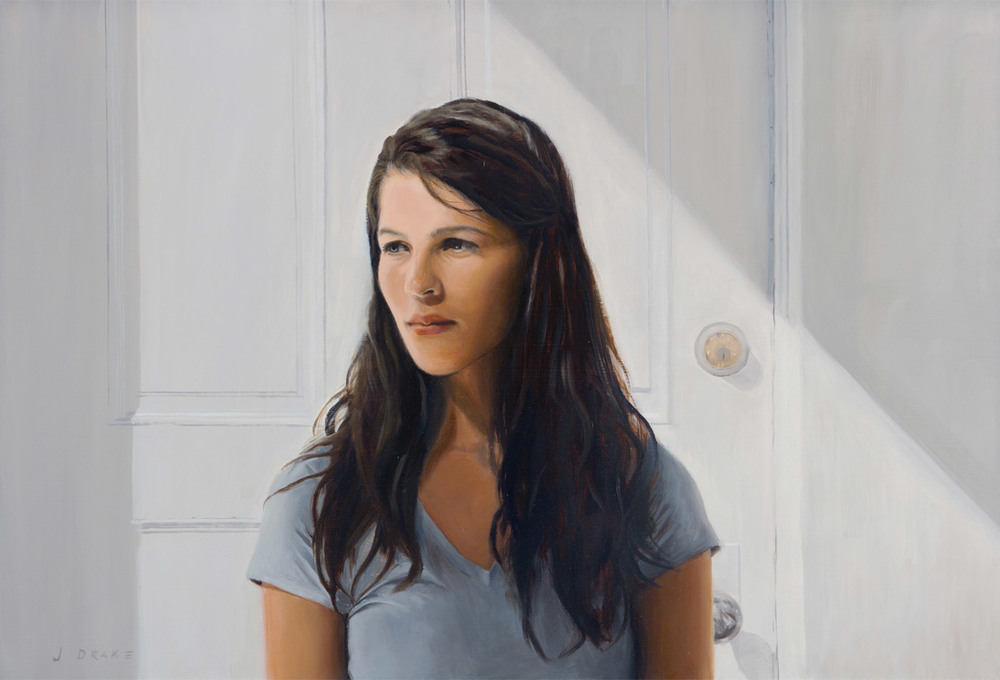 Maggie   - oil on panel, 20 x 30 inches