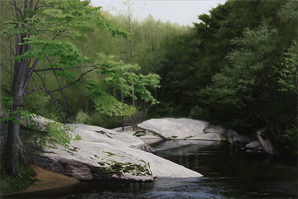 River Bend - gicleé 20 x 30 inches, $650