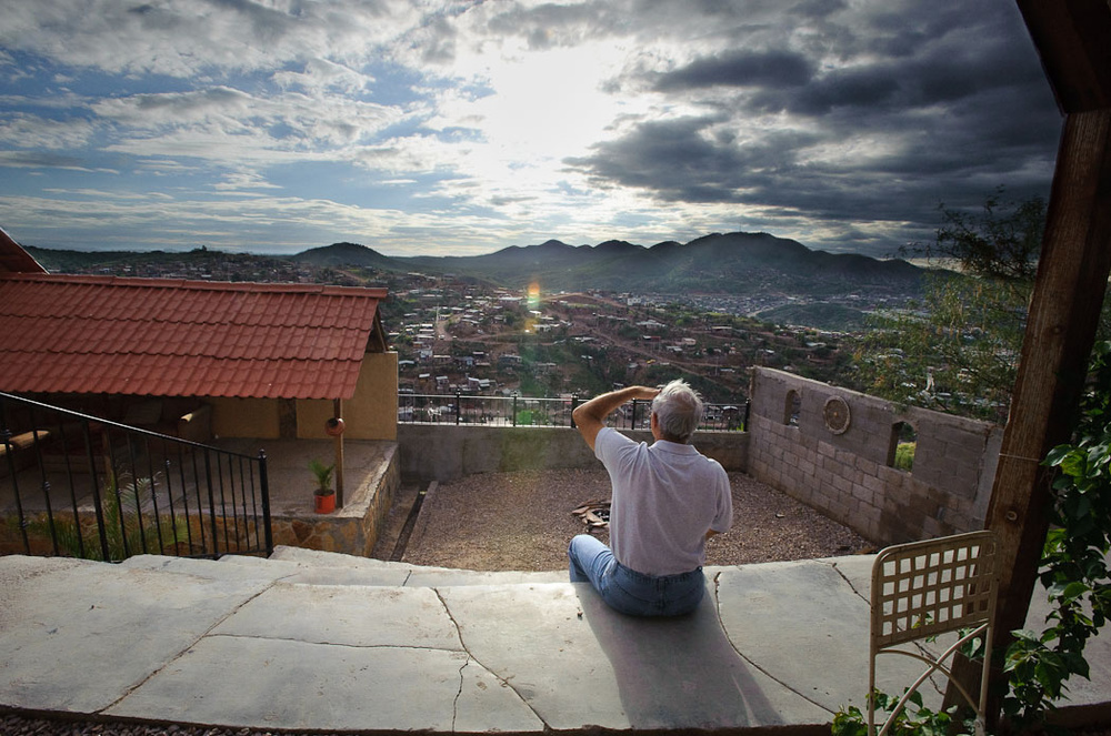 View from Cuirim House in Nogales, Mexico