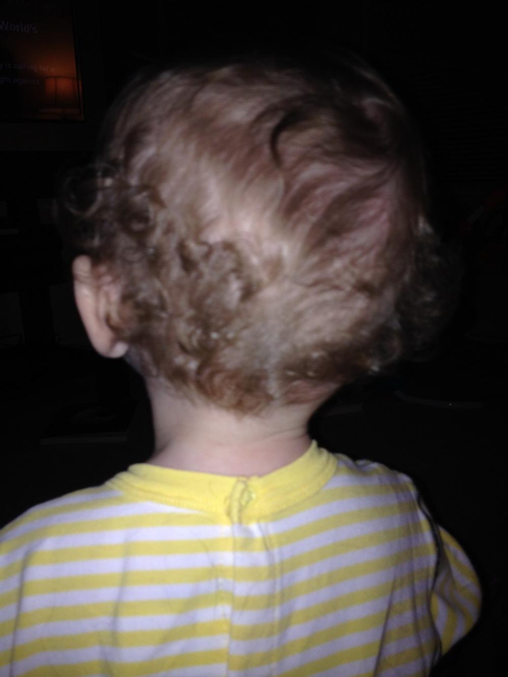 Baby curls