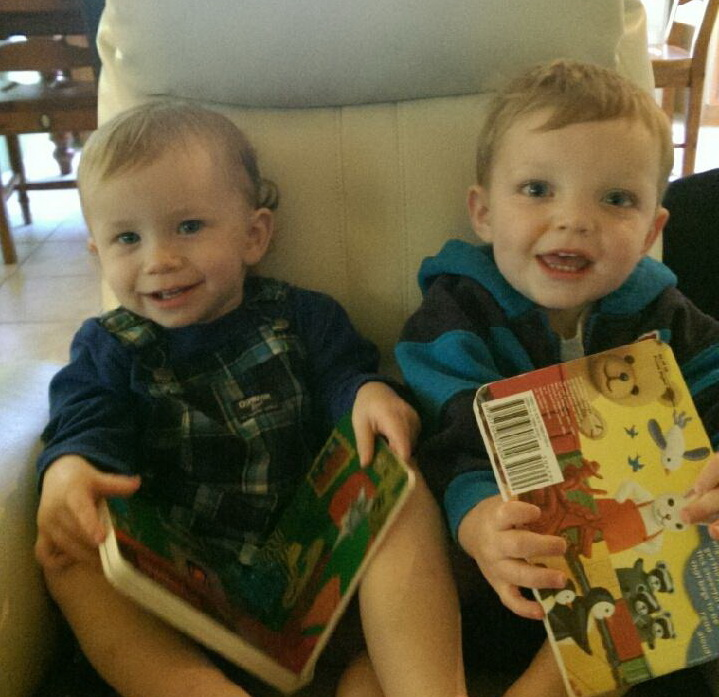Tucker & Lukas Reading