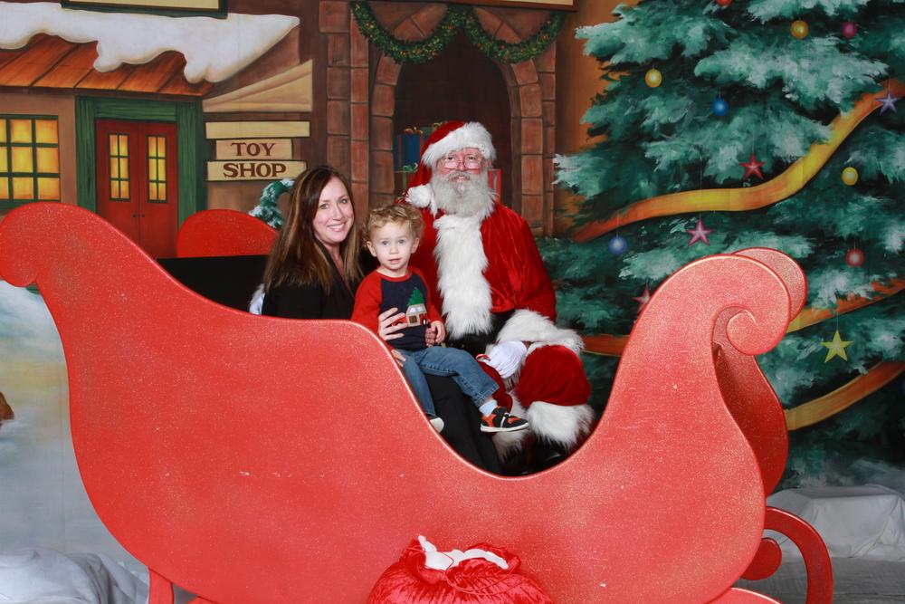Mommy meets Santa