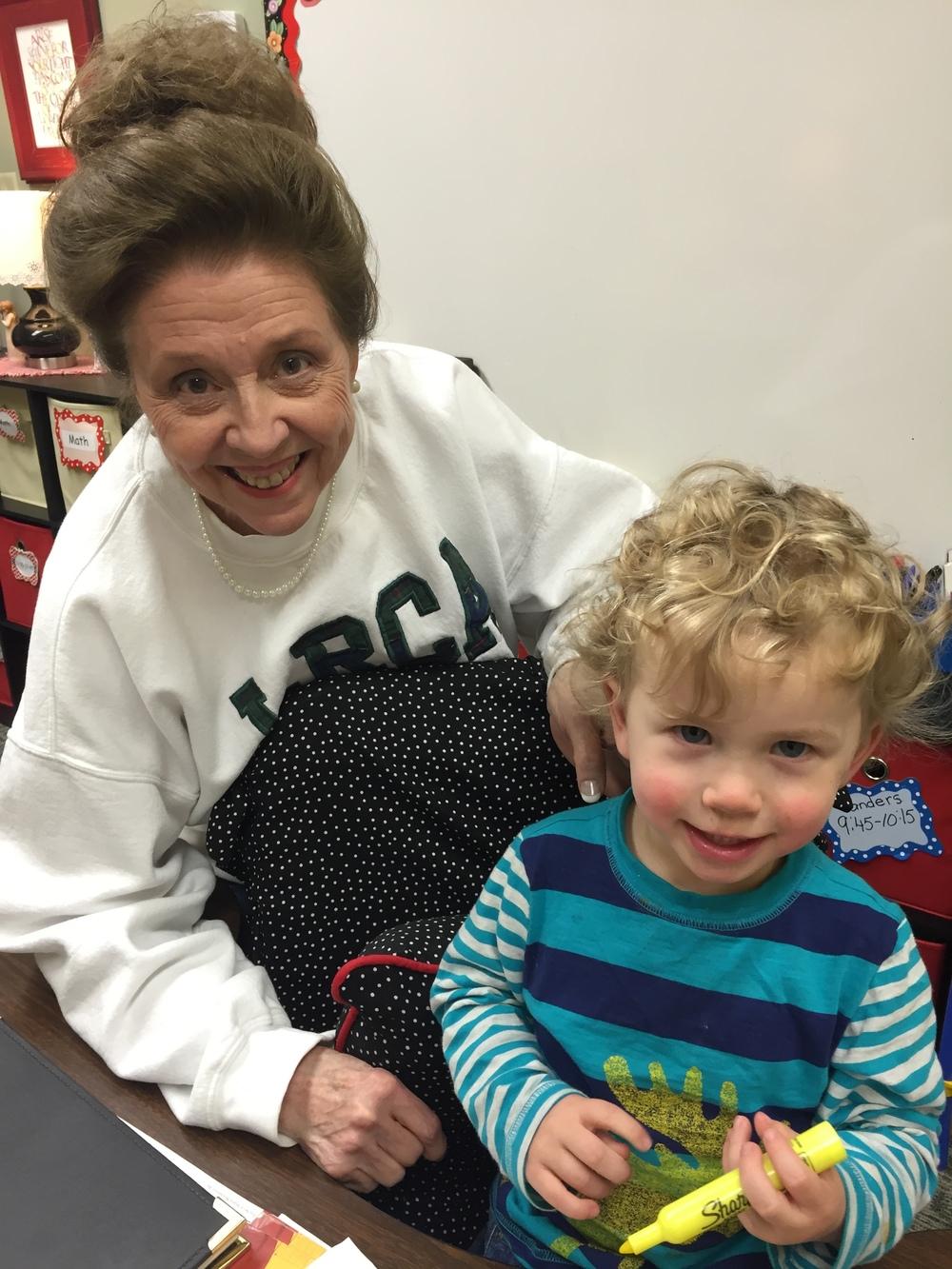 Visit to Sarah's classroom