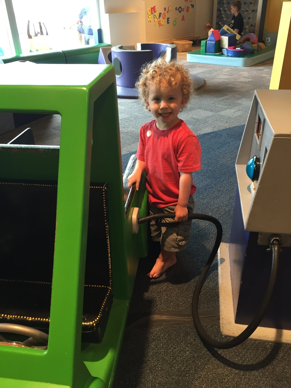 Recent visit to the Houston Children's Museum