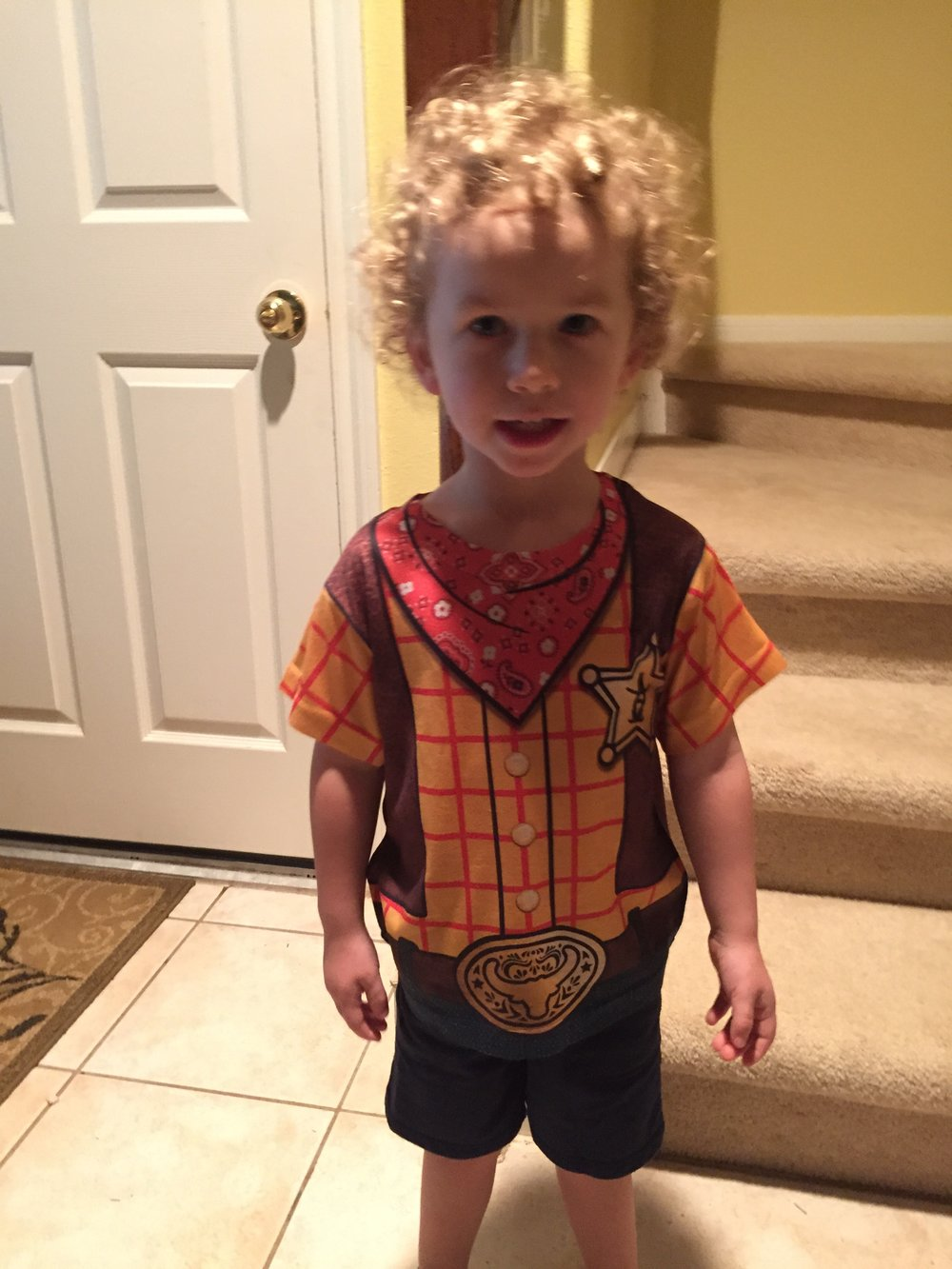 Sheriff Tucker ready for Rodeo day at school