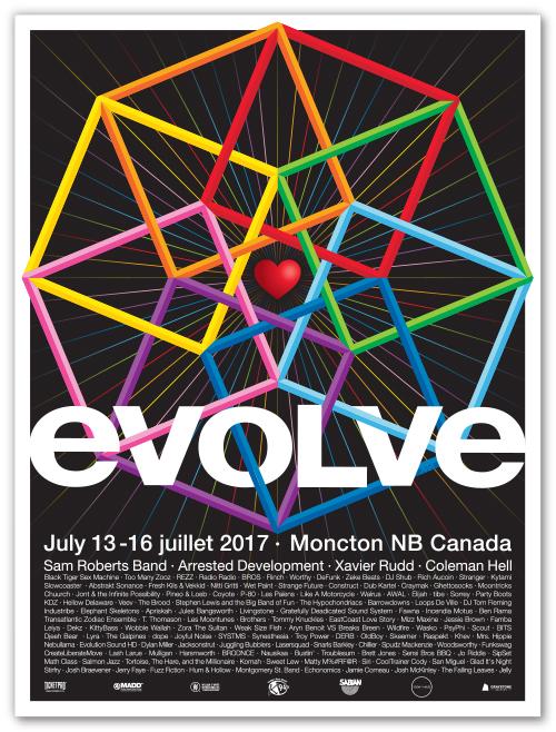 evolve Festival 2017 POSTER