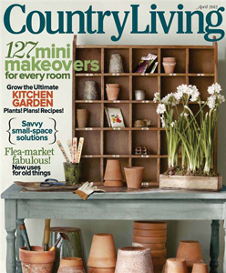 Country Living, April 2012