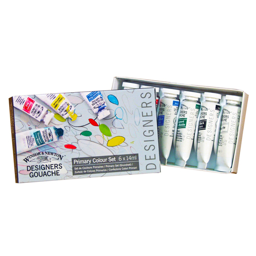 Colored Winsor & Newton Designer Gouache