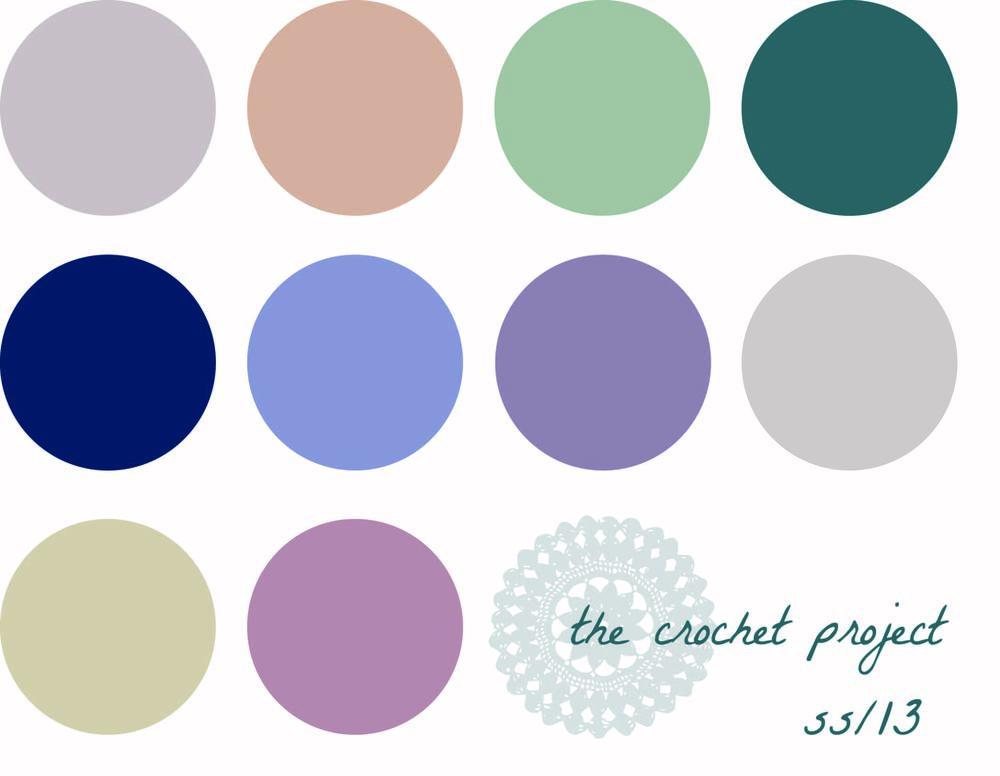 the crochet project swatch chart