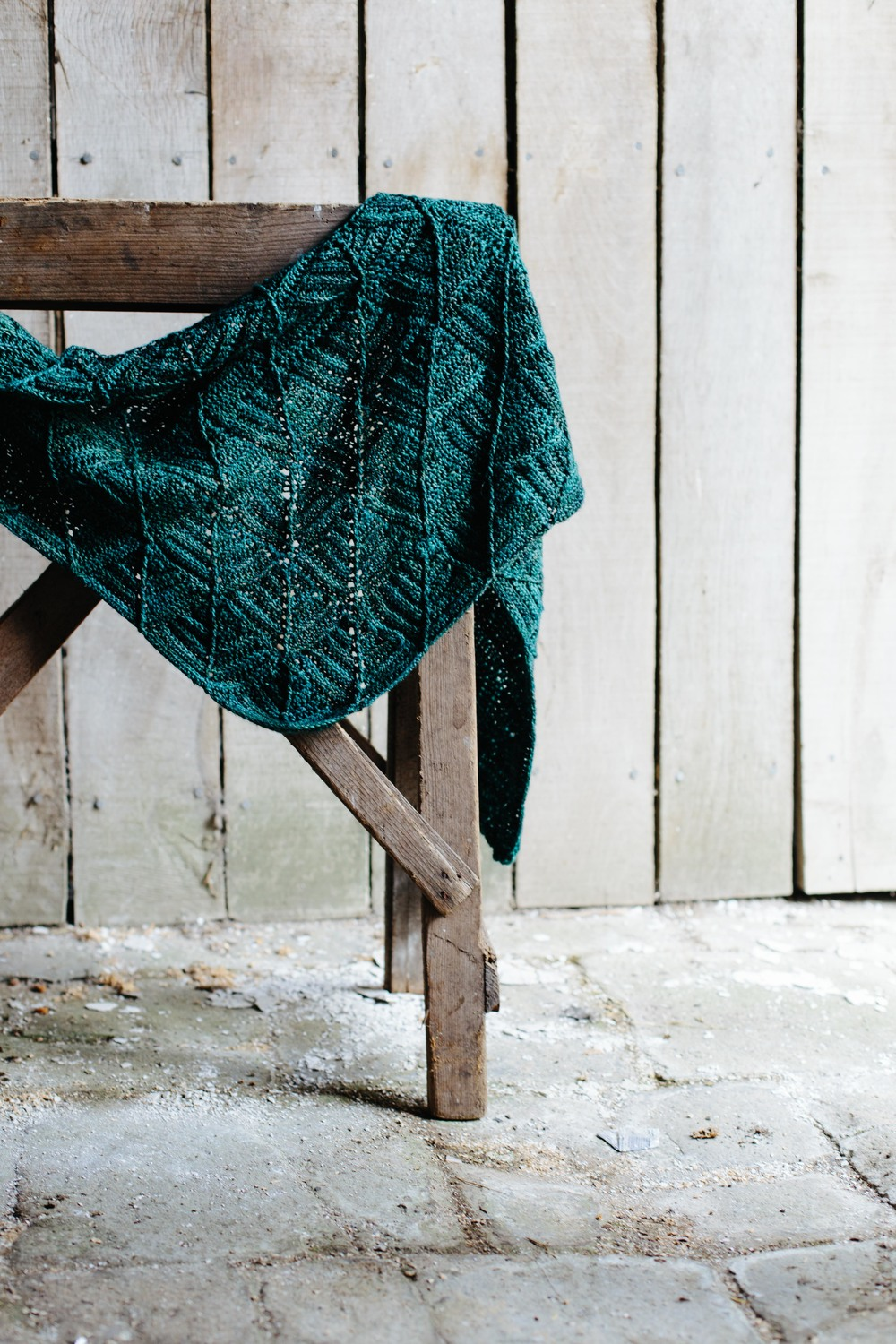 Pinetum Shawl by The Crochet Project