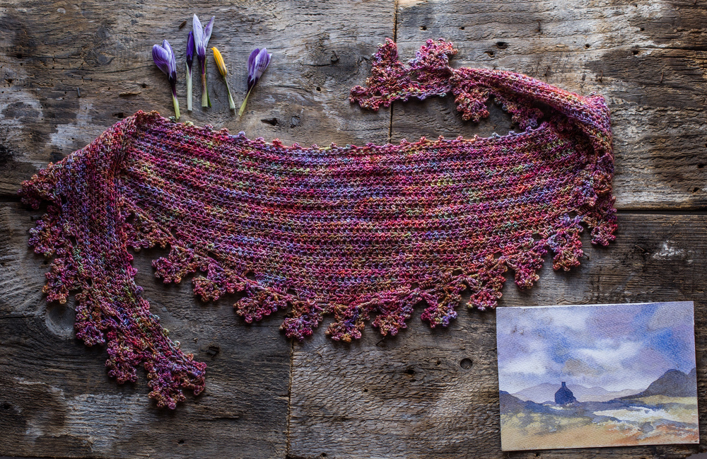 Your Mileage May Vary from The Shawl Project Book One, which launched at EYF 2015