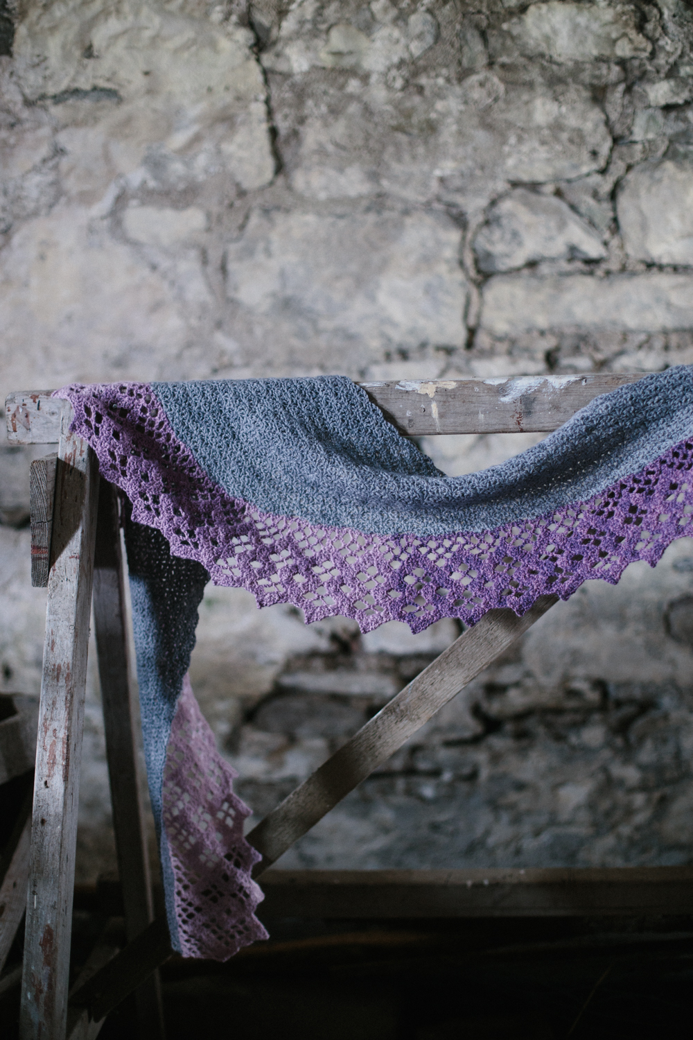 Wisteria Trellis by Joanne Scrace for The Crochet Project