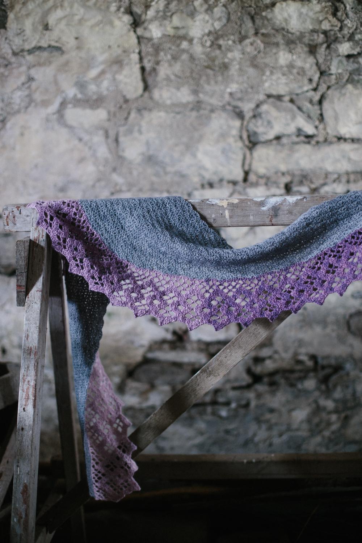 Wisteria Trellis by Joanne Scrace for The Crochet Project
