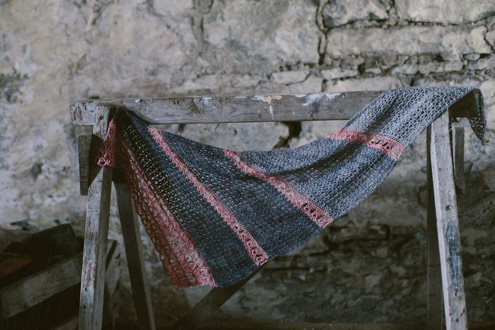 Fog Break by Kat Goldin for The Crochet Project