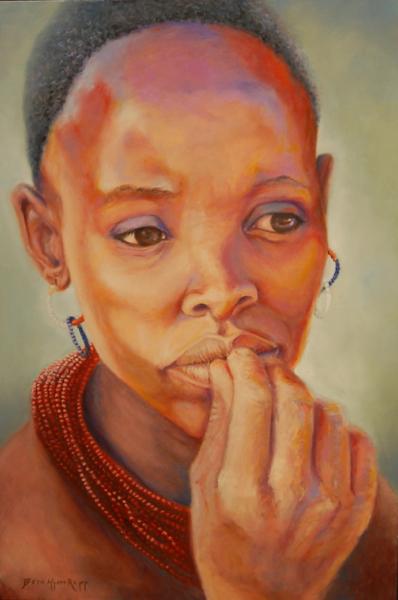 """""""Kenya Woman"""""""