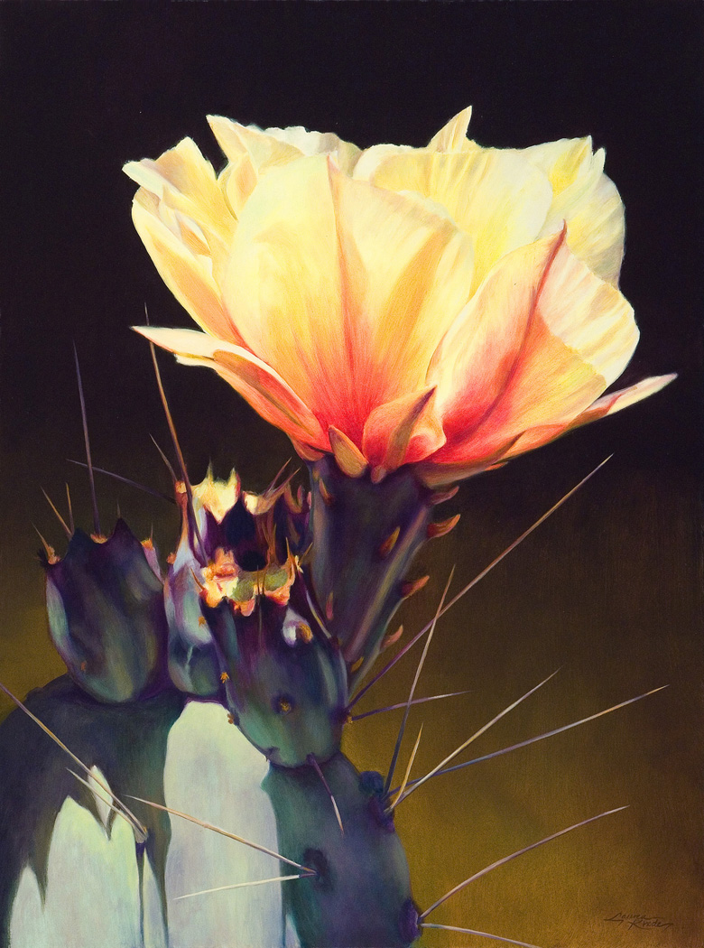 """Prickly Pear Luminescence II"""