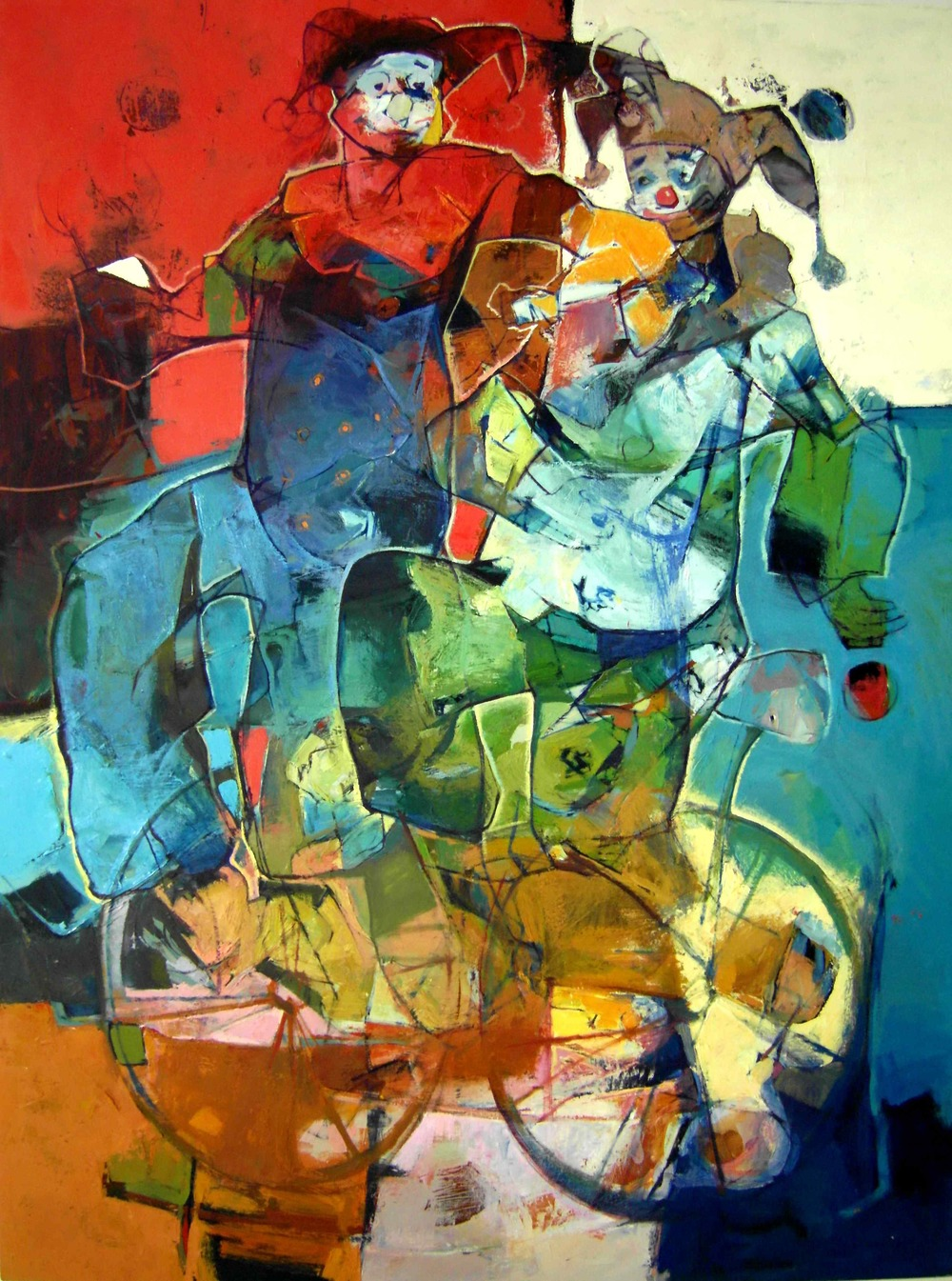 Falah Al-Saidi  Oils on Canvas