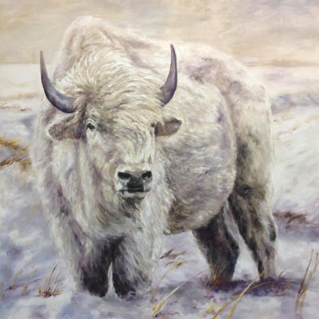 Susan Hartenhoff-Haygood  Mixed-Media Paintings on Canvas