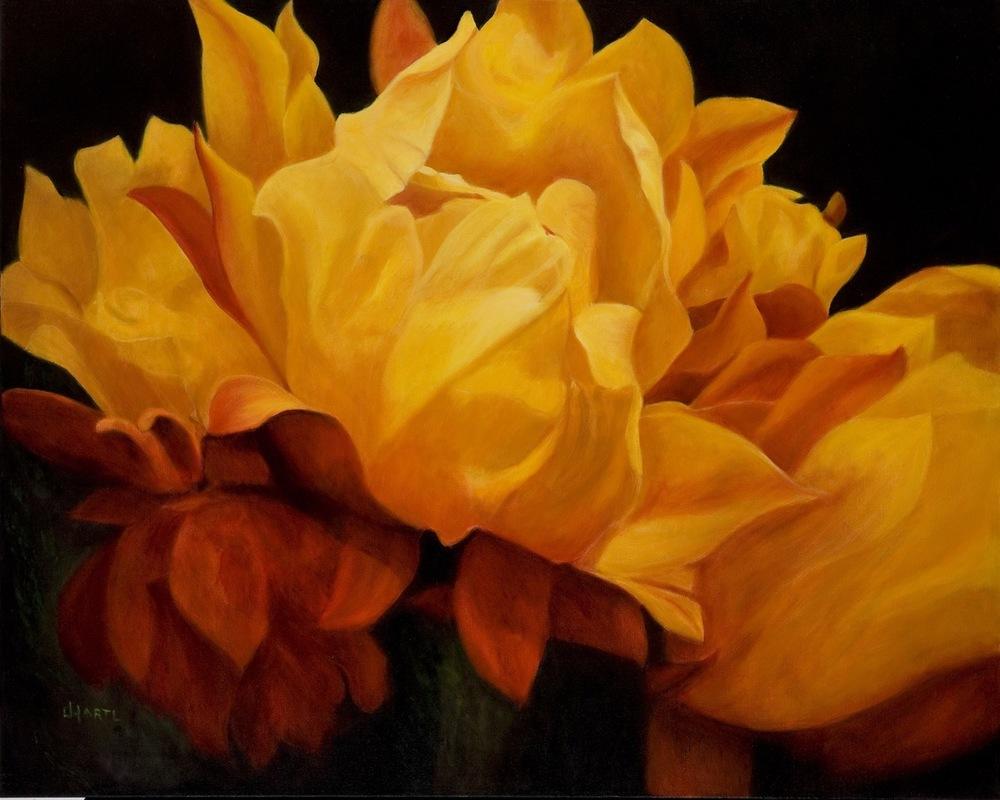 Joy Hartl  Oils on Canvas