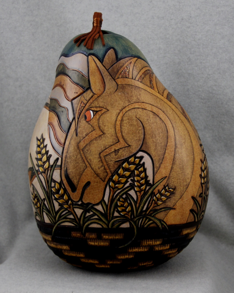 Heather Kinkade  Gourd Sculptures
