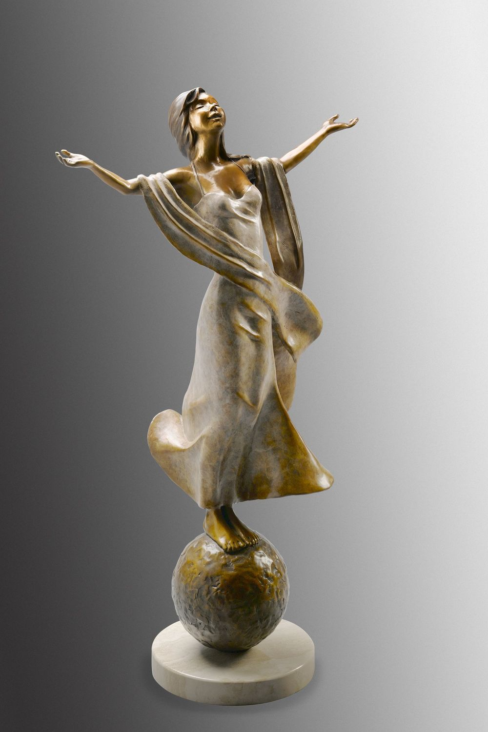 Paula Yates  Bronze Sculptures