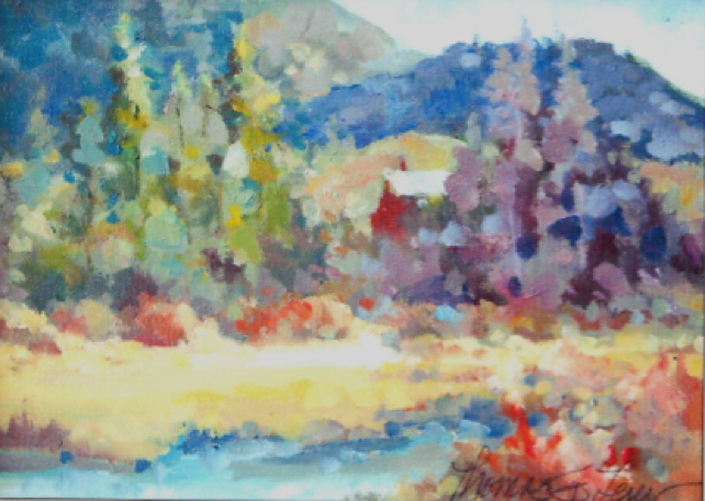 Thomas G. Lewis  Oils on Canvas