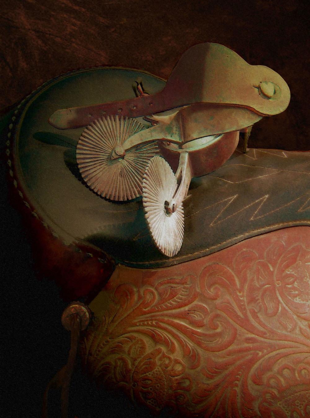 Jerald Weston  Oil on Canvas