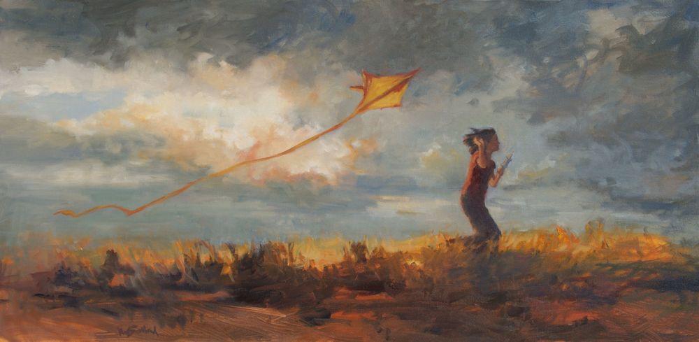 Kim Ballard  Oil on Canvas