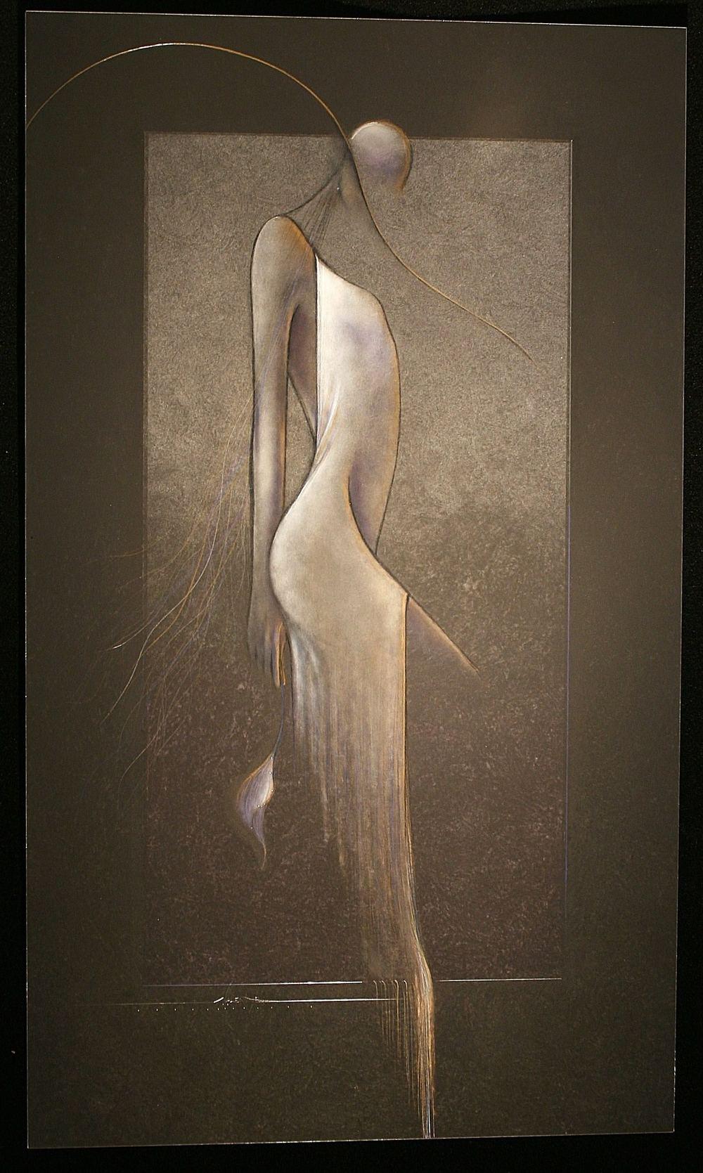 Valentine, Dan; Struttin; Hand painted on aluminum; 28x48; $4500.jpg