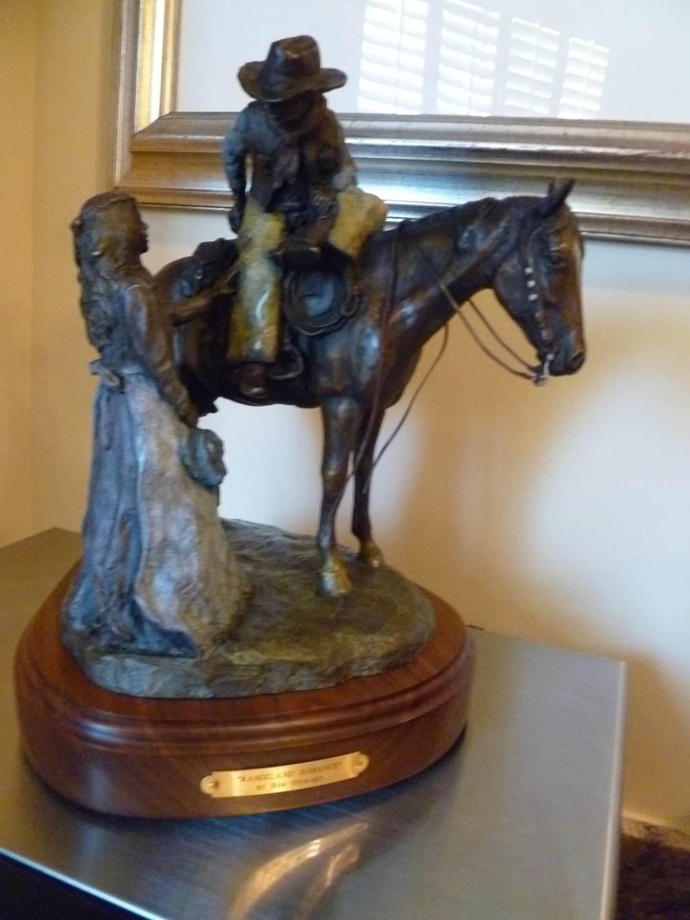 Rangeland Romance Bronze:RonStewart.jpg