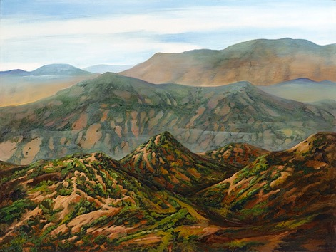 Olson_ Curt_ Weaver Mtn Range_ Acrylic_ 30x40.jpeg