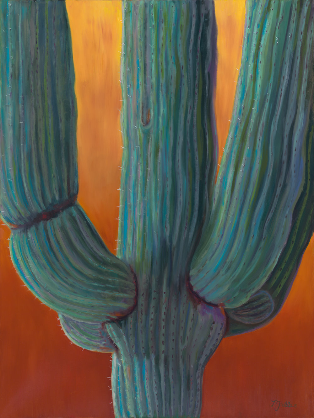 """Sunset Saguaro"""